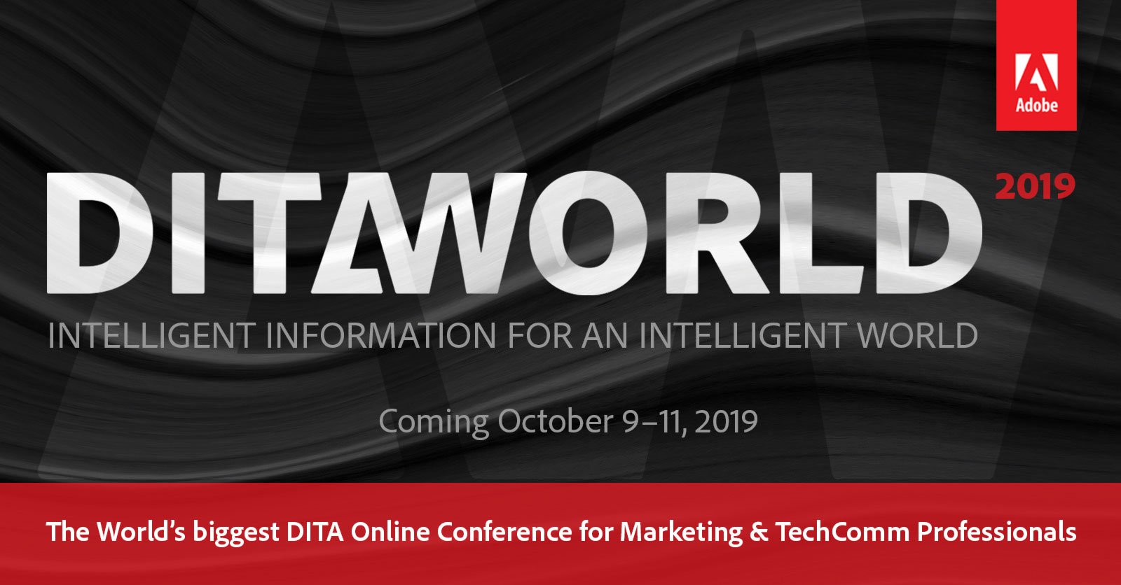 Home - Adobe DITAWORLD 2019 – The DITA Online Conference